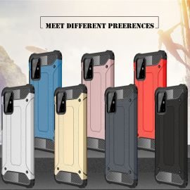 Противоударен калъф Metal Carbon за Samsung Galaxy S20