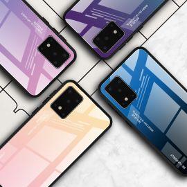 Стъклен хибриден кейс за Samsung Galaxy S20+ Plus