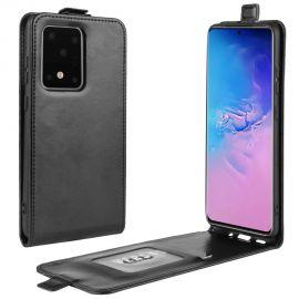 Кожен калъф вертикален флип за Samsung Galaxy S20 Ultra