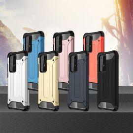 Противоударен калъф Metal Carbon за Huawei P40 Pro