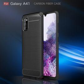 Силикон гръб Carbon за Samsung Galaxy A41
