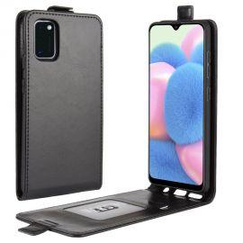 Кожен калъф вертикален флип за Samsung Galaxy A41