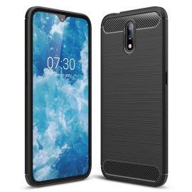 Силикон гръб Carbon за Nokia 2.3