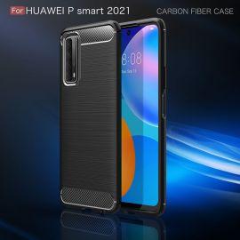 Силикон гръб Carbon за Huawei P Smart 2021