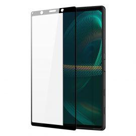 3D Full протектор за целия дисплей от закалено стъкло за Sony Xperia 5 III