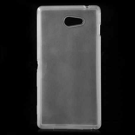 Матов TPU силиконов гръб за Sony Xperia M2 / M2 Aqua