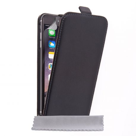 Кожен калъф вертикален тефтер за Apple iPhone 6