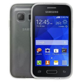 Ултра слим силиконов гръб за Samsung Galaxy Young 2 G130
