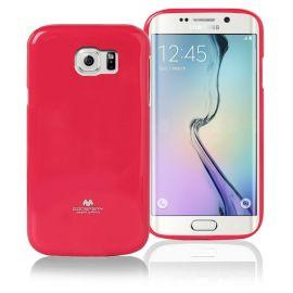 Силиконов гръб Mercury Glittery Powder за Samsung Galaxy S6 Edge