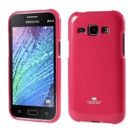 Силиконов гръб Mercury Glittery Powder за Samsung Galaxy J1